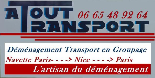 demenagement paris nice groupage transport