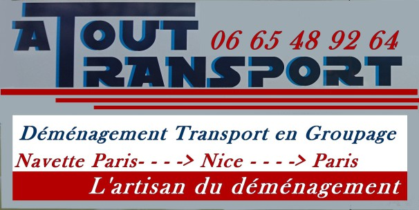 Transport meubles groupage cartons Nice Paris Lyon Aix